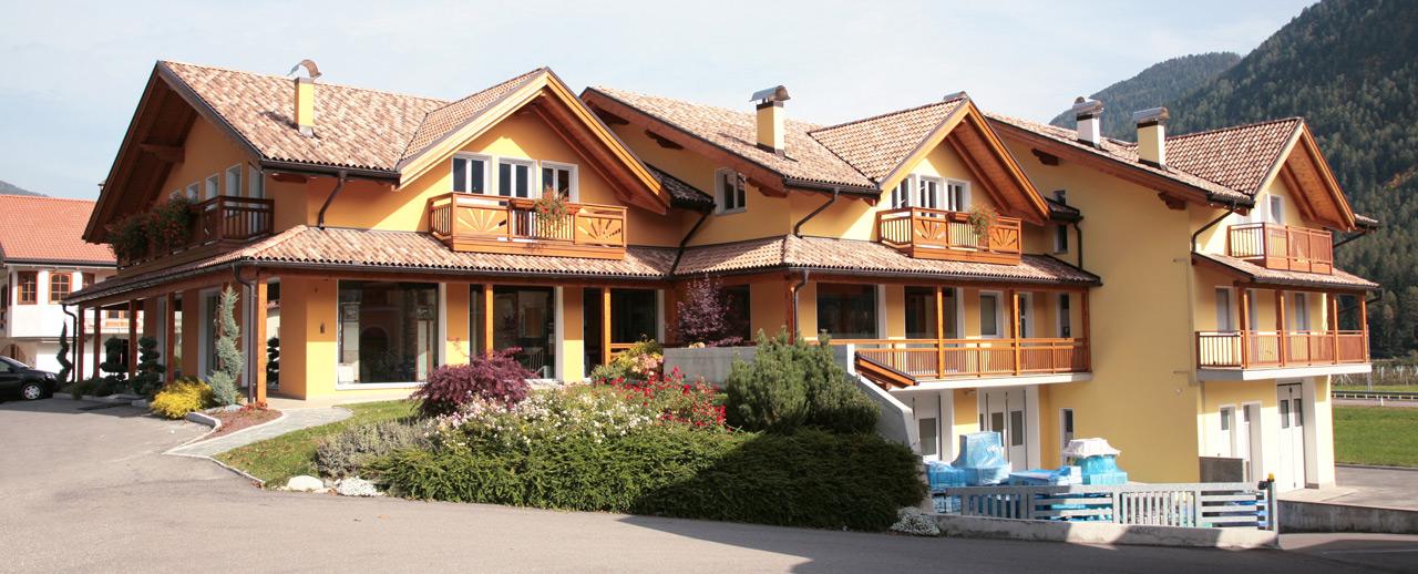 Fantigroup case in legno prefabbricate for Strutture prefabbricate in legno